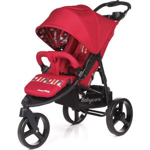 Коляска прогулочная Baby Care Jogger Cruze Красный 17 (Red 17) P6217 адаптер baby jogger car seat adapter zip cybex