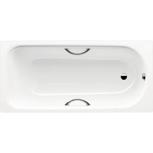 Стальная ванна Kaldewei Saniform Plus Star 337 Easy-Clean 180x80 см, с отверстиями для ручек (133700013001)