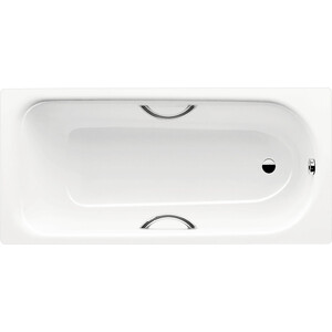 цена на Стальная ванна Kaldewei Saniform Plus Star 180х80 Easy-Clean с отверстиями для ручек (133700013001)