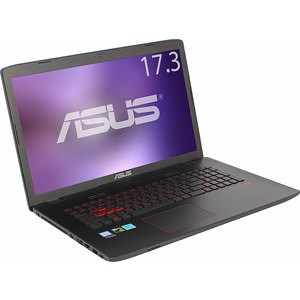 Игровой ноутбук Asus GL752VW-T4474T i5-6300HQ 2300MHz/8Gb/1T/17,3FHD AG IPS/NV GTX960M 2G/DVD-SM/BT/Win10 jintai dc power jack w cable replace for asus rog gl752 gl752v gl752vl gl752vw gl752vwm gl752vw dh71 gl752vw dh74 gl752vw rh71