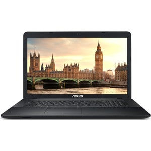 Ноутбук Asus X751NA-TY003T Pentium N4200 1100MHz/4G/1T/17.3HD+ GL/Intel HD 505/DVD-SM/BT/Win10 asus x751na ty003t [90nb0ea1 m00850] black 17 3 hd pen n4200 4gb 1tb dvd rw w10