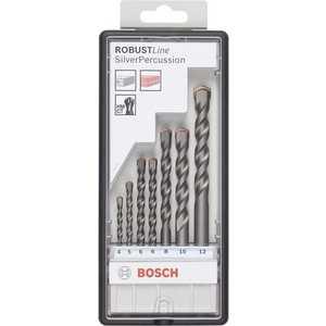 Набор сверл по бетону Bosch 4.0-12мм 7шт Silver Percussion (2.607.010.545)