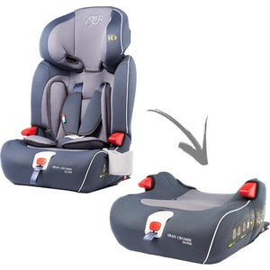 Автокресло Sweet Baby Gran Cruiser Isofix Grey Isofix, группа 123 (9-36) (386011) 3d two cats style hoodie for man