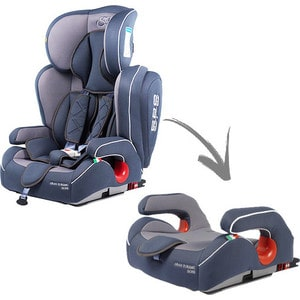 Автокресло Sweet Baby Gran Turismo SPS Isofix Grey Isofix, группа 123 (9-36) (386008) автокресло baby care polaris isofix черныйй серый