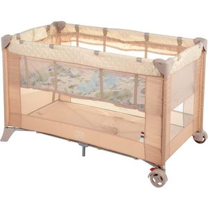 Манеж-кровать Sweet Baby Intelletto 5 в 1 Beige (389764)