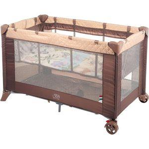 Фотография товара манеж-кровать Sweet Baby Intelletto 5 в 1 Cacao (389763) (726183)