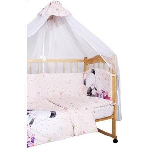 Фотография товара комплект детского постельного белья AmaroBaby 7-ми предметный ''Little Bear'', сатин, бежевый (726193)