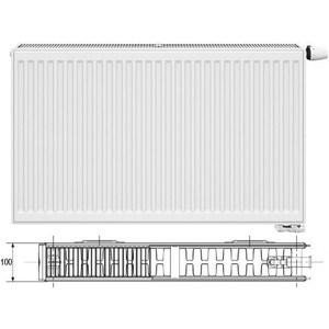 Радиатор отопления Korado 22VK 500х1000 стальной панельный радиатор copa 11 500х1000