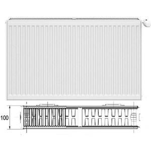 Радиатор отопления Korado 22К 500х1000 стальной панельный радиатор copa 11 500х1000