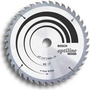 Диск пильный Bosch 190х30мм 48зубьев Optiline Wood (2.608.640.617)