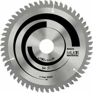 Диск пильный Bosch 190х30мм 54зуба Multi Material (2.608.640.509)