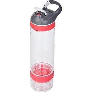 Бутылка для воды 0.75 л Contigo Cortland infuser (contigo0672) бело-розовый бутылка для воды contigo autospout chug синий 1200 мл