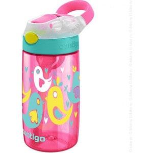 Детская бутылочка для воды 0.42 л Contigo Gizmo Flip (contigo0468) розовый детская бутылочка для воды 0 42 л contigo gizmo sip contigo0471 голубой