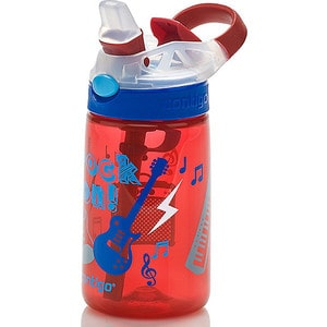 Детская бутылочка для воды 0.42 л Contigo Gizmo Flip (contigo0469) красный детская бутылочка для воды 0 42 л contigo gizmo flip contigo0745 красный