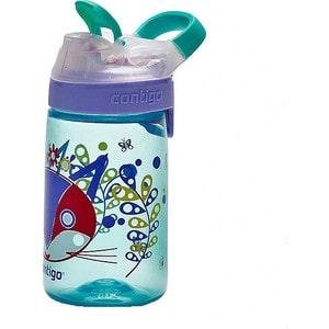 Детская бутылочка для воды 0.42 л Contigo Gizmo Sip (contigo0471) голубой детская бутылочка для воды 0 42 л contigo gizmo flip contigo0745 красный