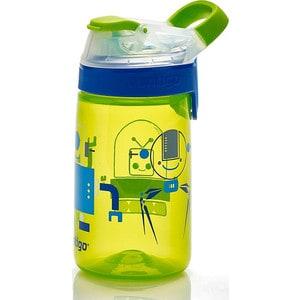 Детская бутылочка для воды 0.42 л Contigo Gizmo Sip (contigo0473) зеленый детская бутылочка для воды 0 42 л contigo gizmo flip contigo0745 красный