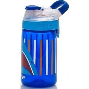 Детская бутылочка для воды 0.42 л Contigo Gizmo Sip (contigo0474) синий бутылка для воды contigo autospout chug синий 1200 мл