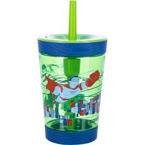 Детский стакан для воды с трубочкой 0.42 л Contigo contigo0770 зеленый детская бутылочка для воды 0 42 л contigo gizmo flip contigo0745 красный