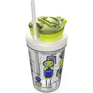 Детский стакан для воды с трубочкой 0.35 л Contigo Snack tumbler (contigo0628) зеленый heathly snack stvle