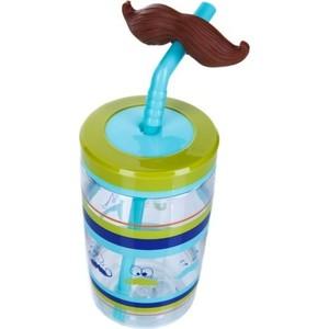 Детский стакан для воды с трубочкой 0.47 л Contigo contigo0521 разноцветный детская бутылочка для воды 0 42 л contigo gizmo flip contigo0745 красный