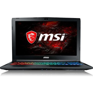 Игровой ноутбук MSI GP62M 7RDX-1662XRU i5-7300HQ 2500MHz/8G/1T/15.6''FHD AG/NV GTX1050 4G/noODD/BT/DOS