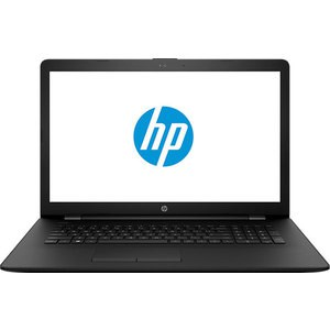 Ноутбук HP 17-ak009ur AMD A6-9220 2400MHz/4Gb/500GB/17.3 HD/Int: AMD Radeon R5/DVD-RW/Win10 hp 17 ak008ur [1zj11ea] black 17 3 hd a6 9220 4gb 500gb dvdrw dos