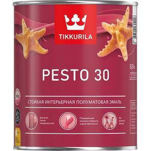 Эмаль алкидная TIKKURILA Pesto 30 ( Песто 30 ) база А 9л. цена и фото
