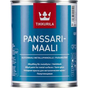 Эмаль по металлу TIKKURILA Panssarimaali ( Панссаримаали ) база А 9л.
