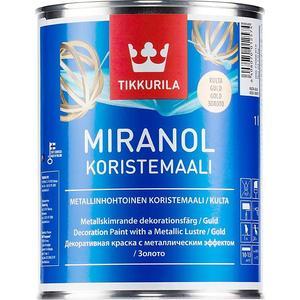 Краска  декоративная TIKKURILA Miranol Koristemaali ( Миранол ) медь 1л.