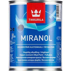 Эмаль TIKKURILA Miranol ( Миранол) тиксотропный база С 0.9л.