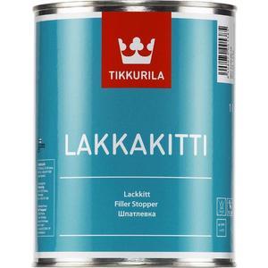 Шпатлевка алкидная TIKKURILA Lakkakitti ( Лаккакитти ) наполнитель быстросохнущая белая 1л.