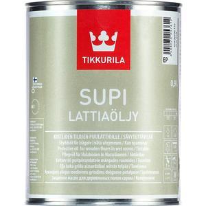 Масло для защиты древесины TIKKURILA Supi Lattiaolju ( Супи ) парафиновое влагост. 0.9л.