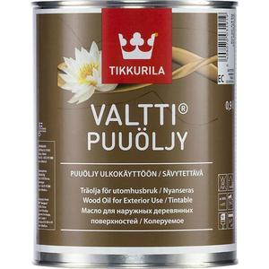 Масло-антисептик для древесины TIKKURILA Valtti (Валтти Пууели) база ЕС 9л.