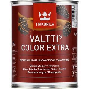 цены Антисептик для дерева TIKKURILA Valtti Color Extra ( Валтти Колор Экстра ) фасадная лазурь база ЕС 9л.