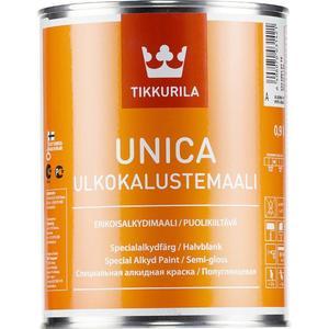 Краска по дереву и металлу TIKKURILA Unica ( Уника ) база С 0.9л.