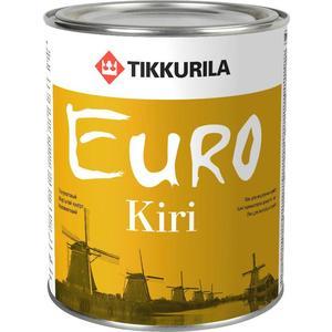 Лак для паркета TIKKURILA Euro Kiri ( Евро Кири ) полуматовый база ЕР 9л. антисептик euro eko wood красное дерево тиккурила 9л