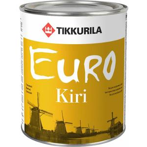 Лак для паркета TIKKURILA Euro Kiri ( Евро Кири ) глянцевый база ЕР 2.7л.