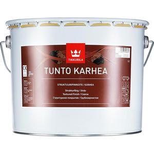Декоративное покрытие TIKKURILA Tunto Karhea ( Тунто ) грубозернистое база RPA 9л.