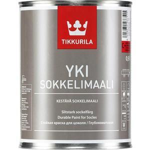 Краска для цоколя TIKKURILA Yki ( Юки ) матовая база А 9л. краска фасадная силоксановая матовая база b2 белинка 1 86л