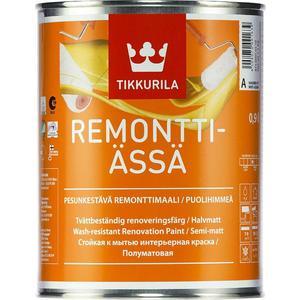 Краска в/д TIKKURILA Remontti-Assa ( Ремонтти-Ясся ) база А 9л. лак для древесины tikkurila paneeli assa 20 панели ясся полуматовый база ер 9л