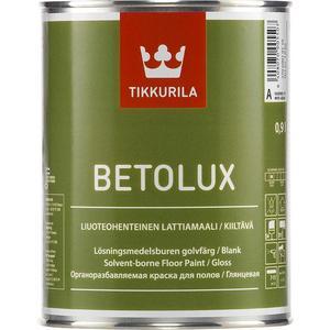цены  Краска для пола TIKKURILA Betolux ( Бетолюкс ) глянцевая база А 9л.