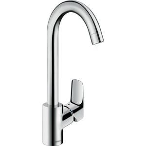 Смеситель для кухни Hansgrohe Logis (71835000) держатель туалетной бумаги hansgrohe logis 40526000