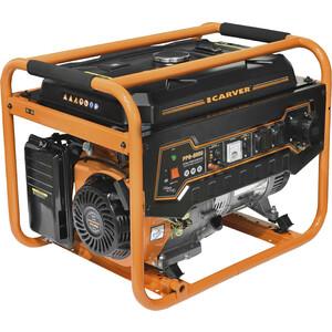 Генератор бензиновый Carver PPG- 8000 комплект транспортировочный carver для генераторов ppg 3600 8000е 01 020 00014