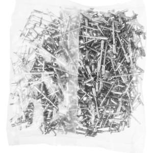 цены Заклепки вытяжные многозажимные Зубр 3.2х6мм 1000шт алюминиевые (31311-32-06)
