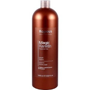 Фотография товара kapous Magic Keratin Кератин бальзам серии ''Magic Keratin'' 1000 мл (727665)