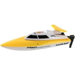 Радиоуправляемый катер Fei Lun FT007 High Speed Boat 2.4G feilun ft012 high speed rc racing boat brushless fast self righting rc boat 45km h vs ft011 ft010 ft009 remote control boat mode