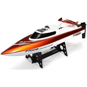 Радиоуправляемый катер Fei Lun FT009 Racing Boat 2.4G create toys no 3312 2 4g volvo rowing racing boat
