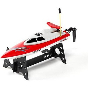 Радиоуправляемый катер Fei Lun High Speed Boat 27Mhz remote control mini size electric 1 24 high speed 4 wheel drive rc drift speed race car with lights