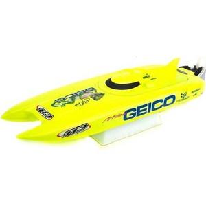Радиоуправляемый катамаран ProBoat Miss Geico 17 RTR 2.4G радиоуправляемый катер proboat shockwave 26 brushless deep v