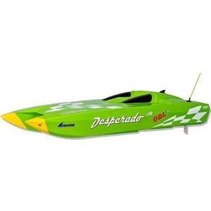 Радиоуправляемый катер Thunder Tiger Desperado Junior Green Edition 2.4G цена и фото